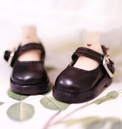 26cm :: Mary Jane :: Black